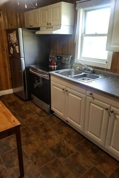 renovating a dated kitchen