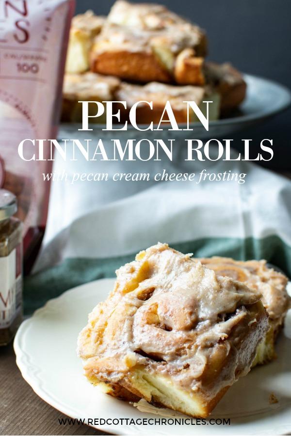 Pecan Cinnamon Rolls