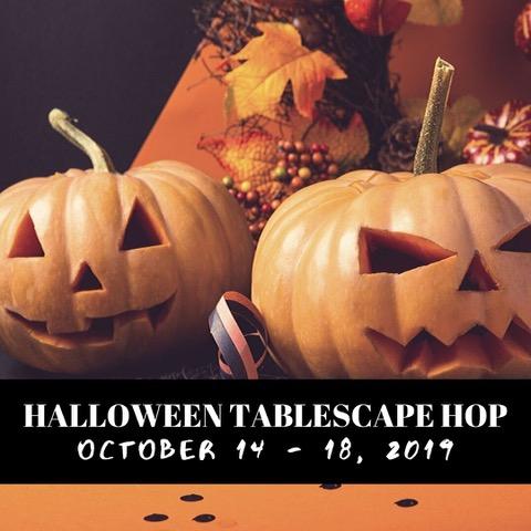 Halloween table setting ideas