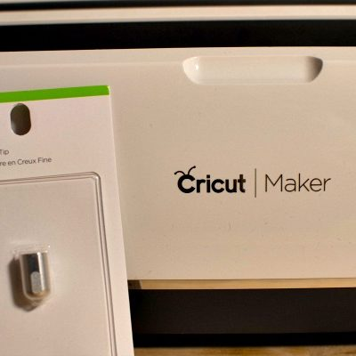 New Cricut Debossing Tip for the Maker