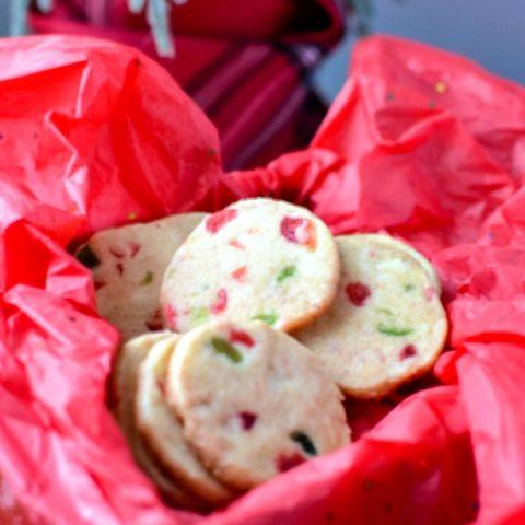 slice and bake fruitcake cookies
