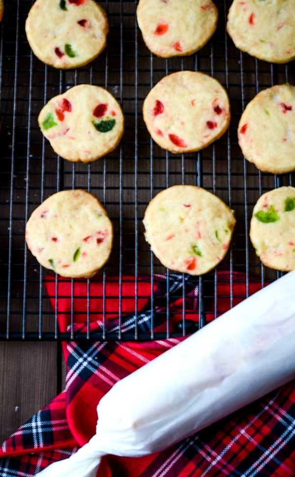 slice and bake fruitcake cookies