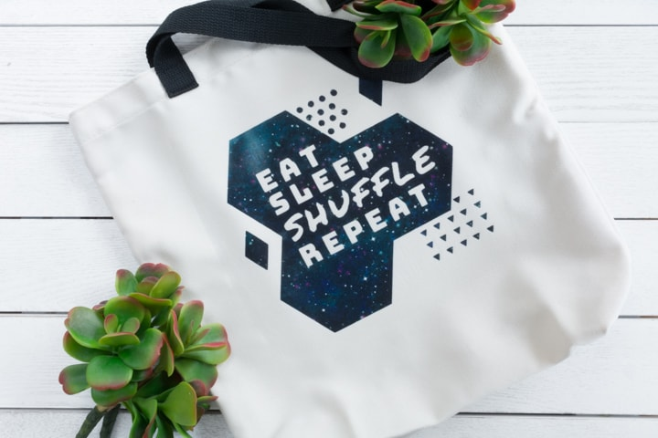 Personalized Reusable Bag With Cricut Infusible Ink & the Explore Air 2