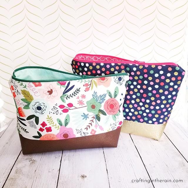Cricut Cosmetic Bag Tutorial