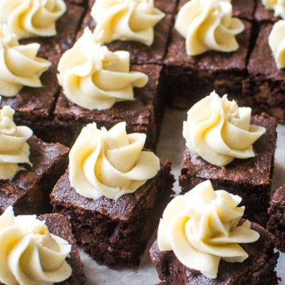 Mocha Brownies Are What Happens When You Have No Peppermint