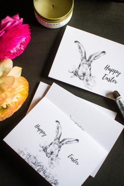 Free Printable Easter Card pdf