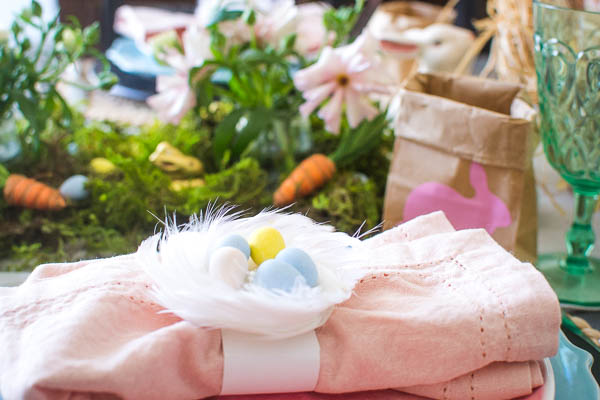Kids Easter table ideas