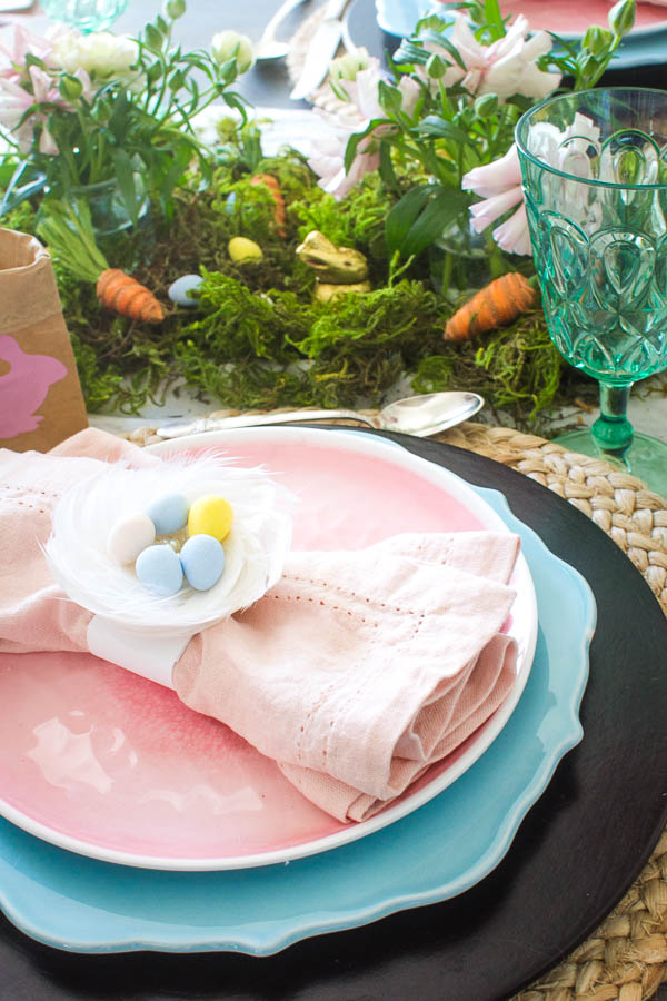 whimsical Easter table decor ideas