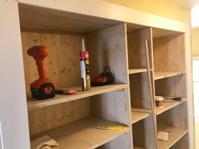 DIY Open Pantry