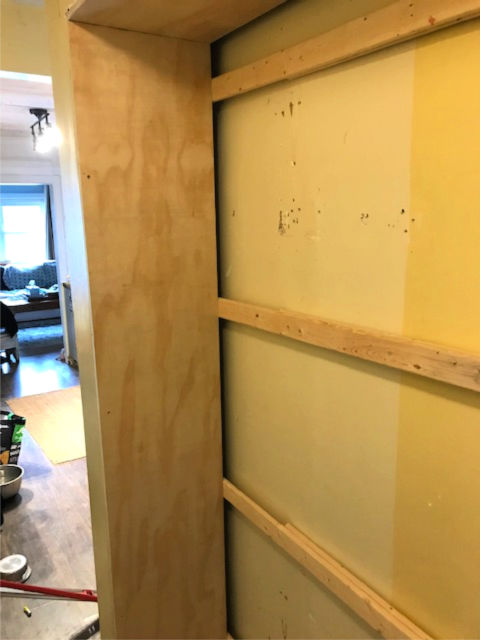 How to make an open pantry from closet space
