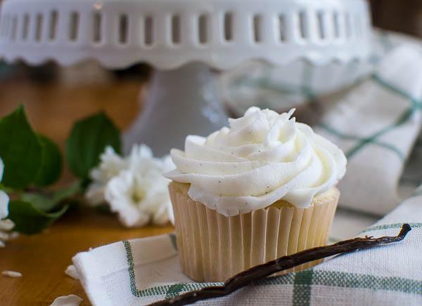Basic Vanilla Bean Cupcake Recipe
