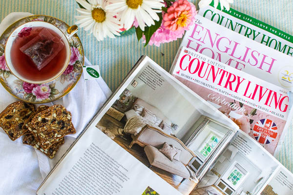 3 home decor magazines from the UK