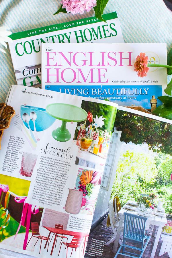 3 UK Home Decor Magazines I love