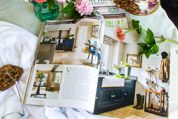 English Home Magazine features English country decor inspiration