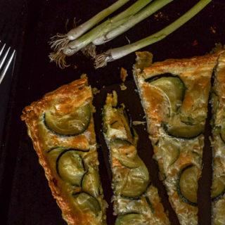 Easy Zucchini Quiche
