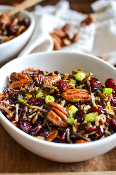 Autumn wild rice