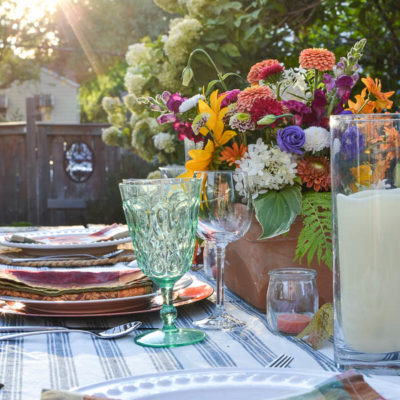 How to Style An Early Fall Dining Table