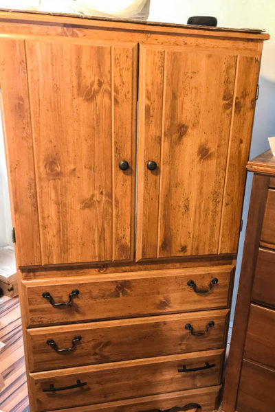 Armoire for Small bedroom makeover