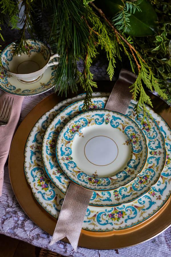 Christmas Table Elegant decor