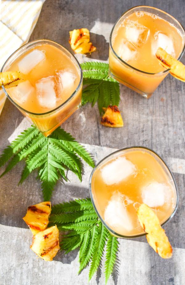 Pineapple Iced White Tea Recipe