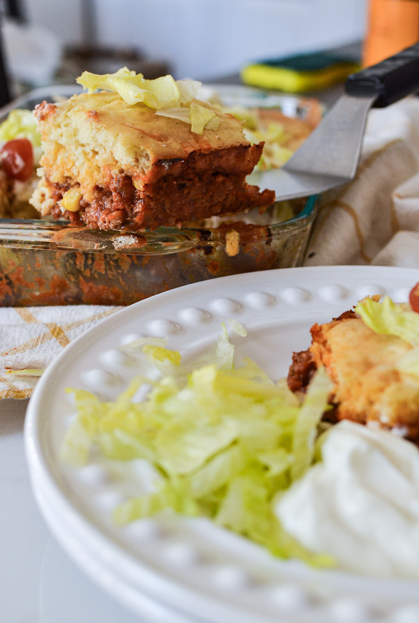 This easy casserole is a nice alternative to tacos