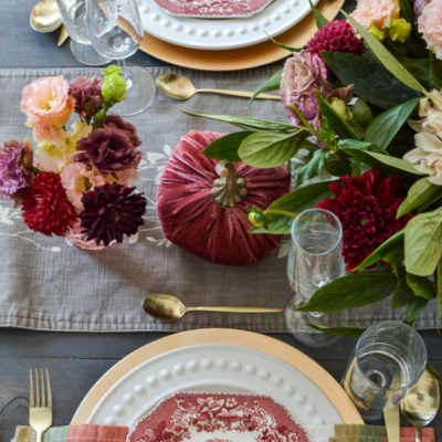 Why Not Set A Cozy Autumn Table