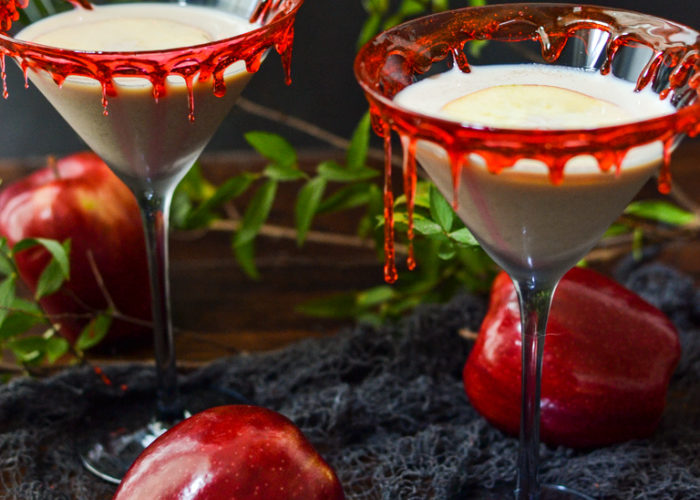 Poison Apple Irish Creme Halloween Cocktail